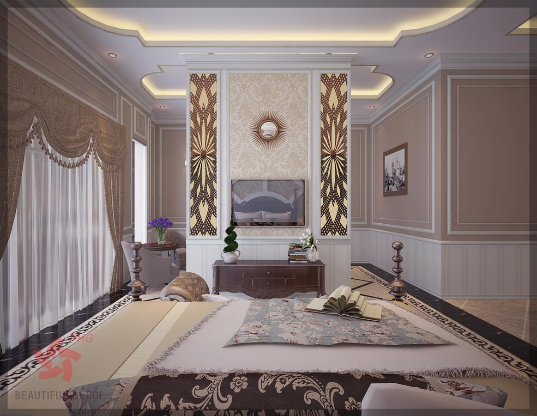 Phào chỉ trang trí phòng ngủ